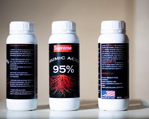 اسید هیومیک مایع یک لیتری